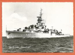 Oct87, Scharnhorst, F 213, Schulfregatte, 121,  GF , Non Circulée - Ships