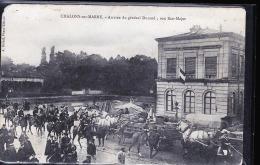 CHALONS SUR MARNE ARRIVEE DU 5 EME REGIMENT - Châlons-sur-Marne