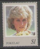 TOKELAU ISLANDS SG275 1998 PRINCESS DIANA MNH