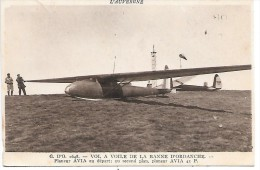 G. D'O - VOL A VOILE DE LA BONNE D'ORDANCHE - Planeur AVIA Au Départ - Avions