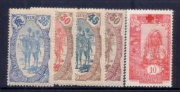 Côte Des Somalis Dallay N° 73 74 76 78 99 Neufs * TB (cote 54€) - French Somali Coast (1894-1967)