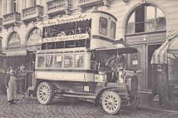 75 - Paris - un autobus de la ligne Montmartre (top animation)