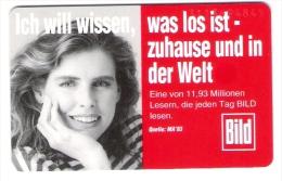 Germany  - O431A  11/93 Bild Zeitung - 1.500 Ex. - Deutschland