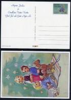 FINLAND 1990 Christmas Postal Stationery  Card, Unused  Michel P165 - Finland