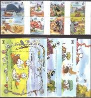 Walt Disney  MiNr. 1198 - 1209 (Block 122) Gambia  MNH / ** / POSTFRISCH - Disney
