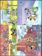Walt Disney  MiNr. 1186 - 1197 (Block 118) Gambia  MNH / ** / POSTFRISCH - Disney
