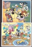 Walt Disney  MiNr. Diverse Blöcke Gambia MNH / ** / POSTFRISCH - Disney
