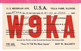 Carte QSL USA 1935 - Non Classificati