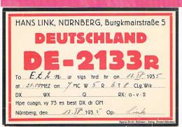 Carte QSL Allemagne  Germany 1935  Marienstrasse - Non Classificati