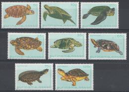 Surinam Mi.nr.:970-977 Schildkröten 1982 Neuf Sans Charniere / MNH / Postfris - Suriname