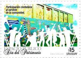 Uruguay 2014 ** Día Del Patrimonio. Participación Ciudadana Servicio Comunidad. See Desc. - Uruguay