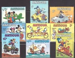 Walt Disney  MiNr. 563 - 571 Antigua Und Barbuda  MNH / ** / POSTFRISCH - Disney