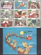 Walt Disney  MiNr. 451 - 460 (Block 40) Anguilla  MNH / ** / POSTFRISCH - Disney