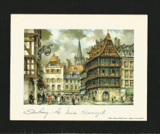 Strasbourg La Maison Kammerzell , 1980 Editions Pram Paris - Wunderschöner Druck Ca. 20  X 15 Cm , (A1) Ohne Rahmen - - Drucke