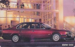 Télécarte JAPON / 110-011 - VOITURE - BMW 540 I - CAR JAPAN Phonecard - AUTO Telefonkarte - COCHE / Germany - 2241 - Cars