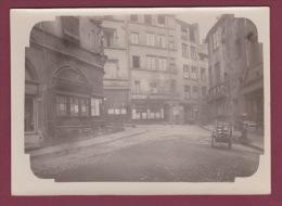 69 - PHOTO LYON - 300914 - Café Du Soleil  Place De La Trinité Café Comptoir Tabac - - Lyon 5