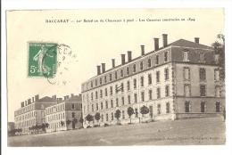 Cp, Militaria, Baccarat - 10è Bataillon De Chasseurs à Pied, Les Casernes, Voyagée - Caserme