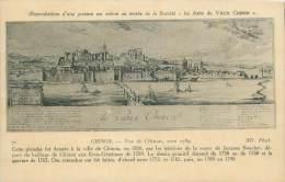 37 - CHINON - Vue De Chinon, Vers 1780 - Chinon