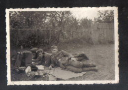 GERMANY -  ORIGINAL PHOTO    - GERMAN  1944 - War, Military