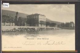 NEUCHATEL - HOTEL BELLEVUE - TB - NE Neuchâtel