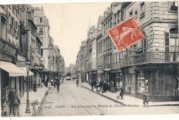 CAEN  Rue Saint Jean Et Maison De Charlotte Corday - TTBE - Caen
