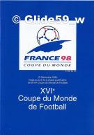 France 98 - 12 Décembre 1995, Tirage Au Sort De La Phase Qualificative De La XVIe Coupe Du Monde De Football - Documenti Della Posta