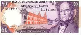 VENEZUELA   50 Bolivares  Daté Du 08-12-1992     Pick 65d       ***** BILLET  NEUF ***** - Venezuela