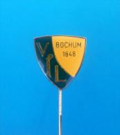 VfL BOCHUM - Football Club ( Germany ) pin Deutschland badge soccer fussball futbol futebol foot calcio