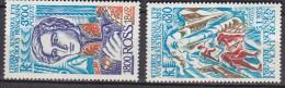 TAAF                N° 61 Et 62 ....ROSS............... Belle Gomme D´origine....... COTE  14E - Unused Stamps
