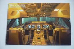 POSTE DE PILOTAGE   B 747 400     AIRLIN E ISSUE   JAL - 1946-....: Era Moderna