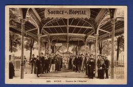 03 VICHY Source De L'Hôpital - Animée - Vichy