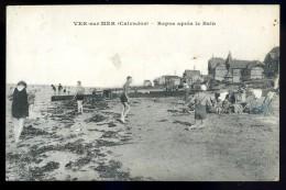 Cpa Du 14 Ver Sur Mer Repos Après Le Bain      - Ryes Bayeux  AO20 - Bayeux