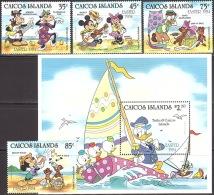 Walt Disney  Ostern 1984 Caicos-Inseln  MNH / ** / POSTFRISCH - Disney
