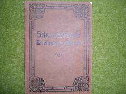 A2895) Schönes Altes Schwaneberger Sammelalbum Um 1920 - Alben Leer