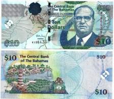 Bahamas10 Dollars P-73a 2009 UNC - Bahamas