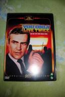Dvd Zone 2 James Bond You Only Llive Twice On Ne Vit Que Deux Fois 1962 Vostfr + Vfr - Sciences-Fictions Et Fantaisie