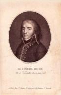 Gravure GENERAL LOUIS LAZARE HOCHE Montreuil  Versailles 1768 - Wetzlar 1797 Général Français De La Révolution. - Vieux Papiers