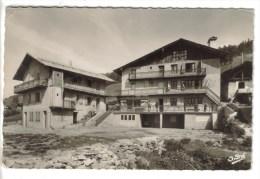 CPSM MACO LA PLAGNE (Savoie) - LES CHARMETTES : Colonie De Vacances - France