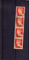 ITALY KINGDOM ITALIA REGNO 1942 POSTA MILITARE IMPERIALE SOPRASTAMPATA PM OVERPRINTED L. 1,75 STRISCIA USATA STRIPp USED - Posta Militare (PM)