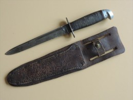 Couteau Western L77 Commando, US WW2. - Armas Blancas