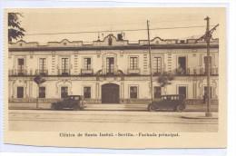 Lote De 11 Postales Clinica De Santa Isabel - Sevilla