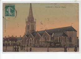 VIBRAYE - Place De L'Eglise - Très Bon état - Vibraye