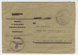 Deutsches Reich Dienst Frei durch Abl�sung Reich