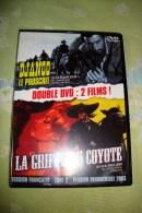 Dvd Zone 2 Django Le Proscrit + La Griffe Du Coyotte Versions Françaises - Western/ Cowboy