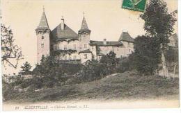 CPA  73* ALBERVILLE * CHATEAU MANUEL - Albertville