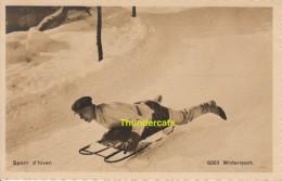 CPA SPORT D'HIVER WINTERSPORT  PHOTOTYPIE NEUCHATEL - Sports D'hiver
