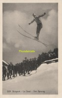 CPA SKISPORT LE SAUT DER SPRUNG PHOTOTYPIE NEUCHATEL - Sports D'hiver