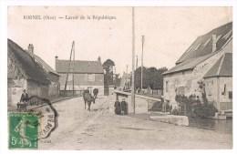 BORNEL . Lavoir De La République . - Frankreich