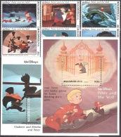 Walt Disney  MiNr. 2058 - 2083 (Block 301) Malediven  MNH / ** / POSTFRISCH - Disney