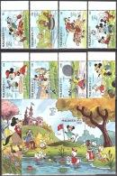 Walt Disney  MiNr. 1411 - 1420 (Block 166) Malediven  MNH / ** / POSTFRISCH - Disney